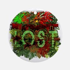lost tv jungle heat Round Ornament