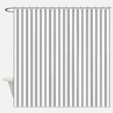 Gray And White Stripes Shower Curtains | Gray And White Stripes ...