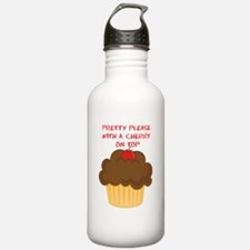 cherry-on-top Water Bottle