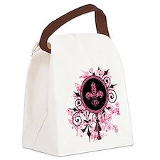 GardenGrungeHpkOwStr Canvas Lunch Bag