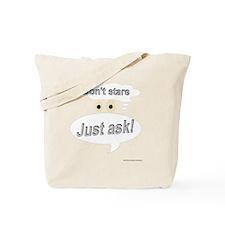 dontstare Tote Bag