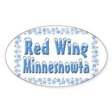 RedWingMinnesnowta Decal