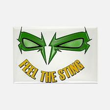 Green_Hornet_-_feel_the_string222 Rectangle Magnet