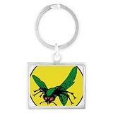 Green hornet Keychains
