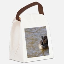 hello Canvas Lunch Bag