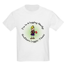Loggin Family Kids T-Shirt