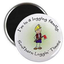 Loggin Family Magnet