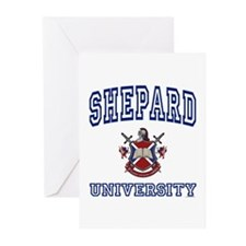 SHEPARD University Greeting Cards (Pk of 10)