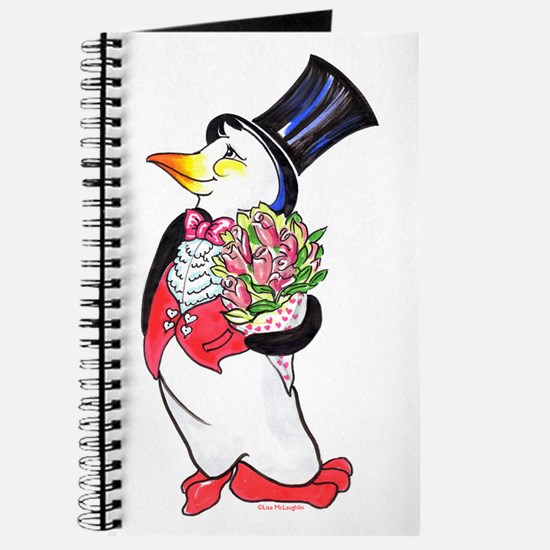Penguin Valentine's Day Journal