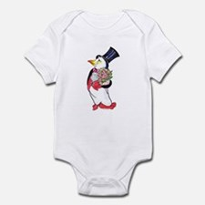 Penguin Valentine's Day Infant Bodysuit