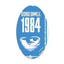 1984 Oval Car Magnet