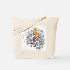 love and art Tote Bag