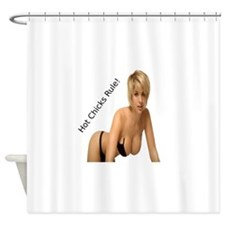 HCR Shower Curtain