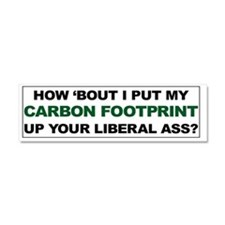 Carbon Footprint CP Car Magnet 10 x 3