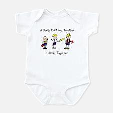 Log Together Stick Together Infant Bodysuit