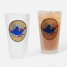 waller dde patch transparent Drinking Glass