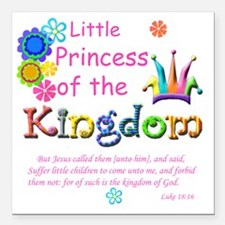 "Little Princess of the K Square Car Magnet 3"" x 3"""