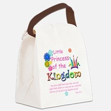Little Princess of the Kingdom Canvas Lunch Bag