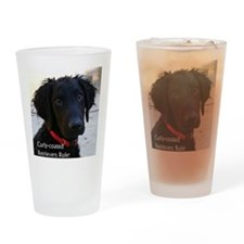 Puppy head image Drinking Glass