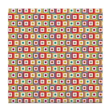 Abstract Blocks Tile Coaster