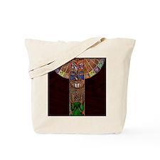 TotemPoleArt-xb 9 x 12 edit Tote Bag