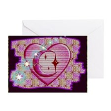 Celestial Heart Greeting Cards (Pk of 10)