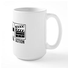lightscameraaction Mug