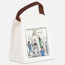 2-Peanut Allergy Canvas Lunch Bag