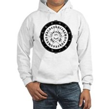 Black on White Tee Roung Jumper Hoody