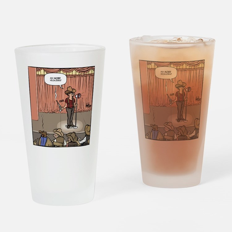 Frontier Heckler Drinking Glass