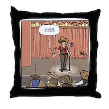 Frontier Heckler Throw Pillow