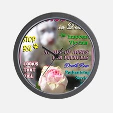 Denver BSL Roses Luna copy Wall Clock