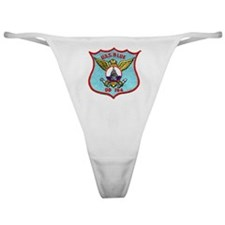 blue patch Classic Thong