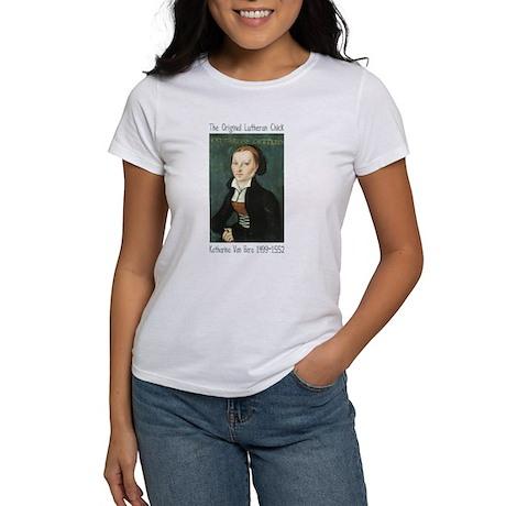 The Original Lutheran Chick Women's T-Shirt
