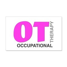 PINK OT Wall Decal
