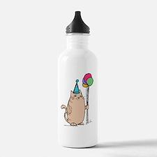birthdaycatcard Water Bottle