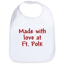 Made with love - Polk Bib