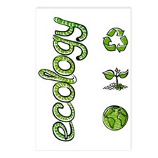 Ecology Green Postcards (Package of 8)