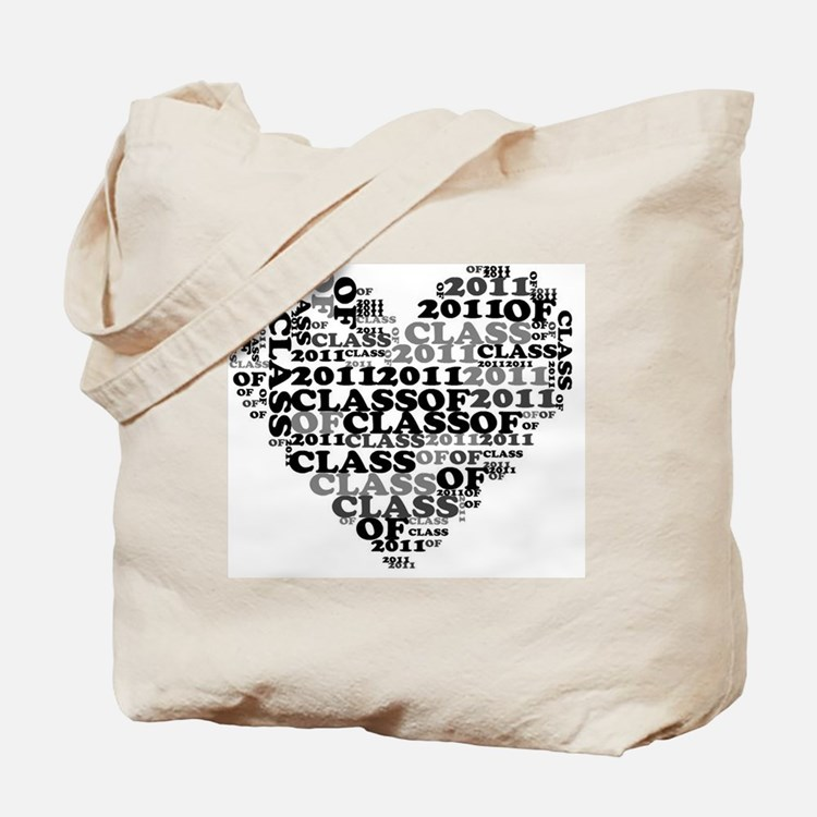 WORD CLASS OF 2011 Tote Bag