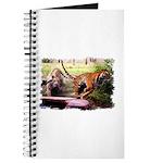 Asian Running Tigers Wild Animal Journal