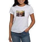 Asian Running Tigers Wild Animal Women's T-Shirt