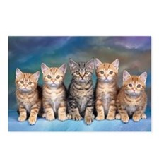Cat Gang Postcards (Package of 8)