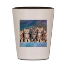Cat Gang Shot Glass
