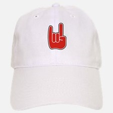 Rock On Baseball Baseball Cap