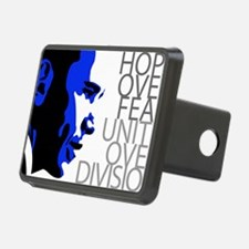 obama_blue_grey_division Hitch Cover