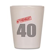 officially_40 Shot Glass