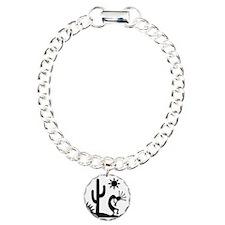 Silhouette Kokopelli Charm Bracelet, One Charm