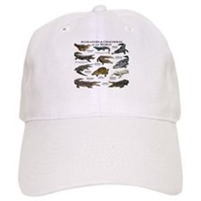 Alligator & Crocodiles of the World Baseball Cap