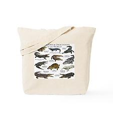 Alligator & Crocodiles of the World Tote Bag