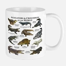 Alligator & Crocodiles of the World Mug